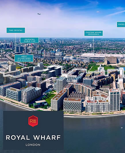 Royal Wharf  - Kris Turnbull