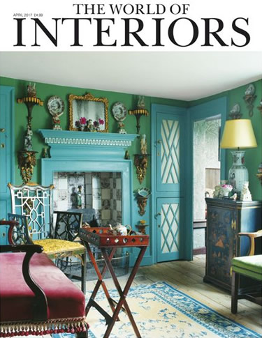 The World Of Interiors Magazine Feature On Kris Turnbull Design Studios April 2017